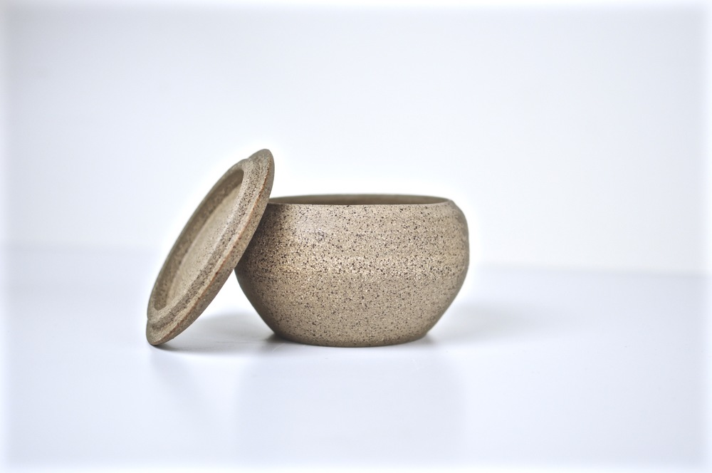 Hand thrown unglazed tea-aging jar. 2015.