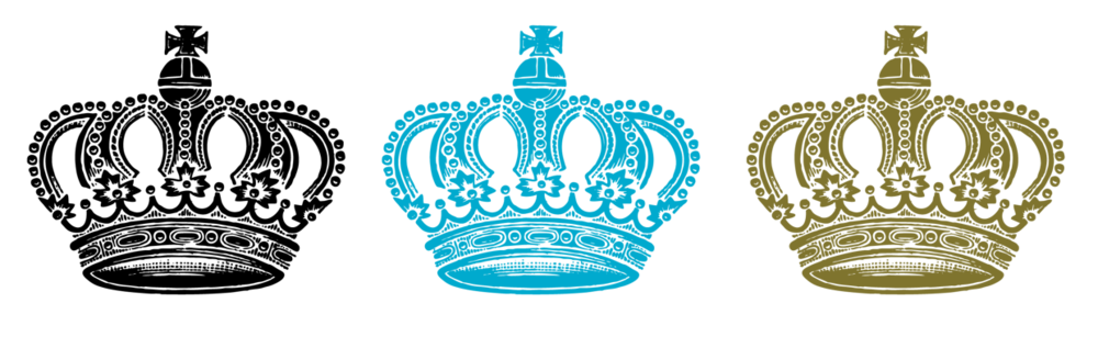 Crown symbols in the campaign palette