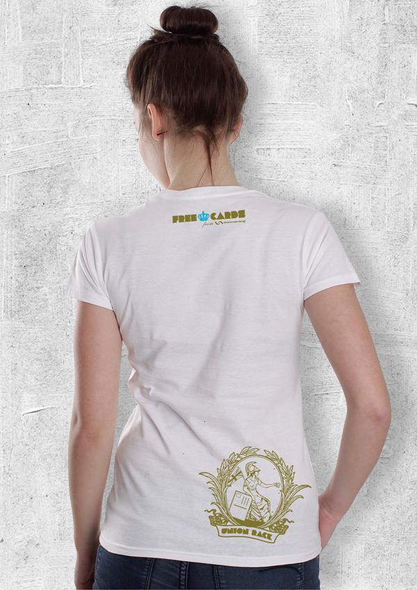 T-Shirt design reverse