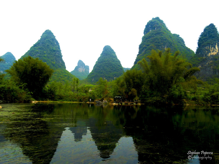 The peacefulness of Yangshuo.