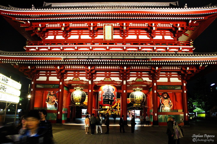 The Sensō-ji Temple in Tokyo was right by my hostel. I spent a lot of time exploring the market area nearby during the day, but came back here at night to reflect about my life and my future goals.