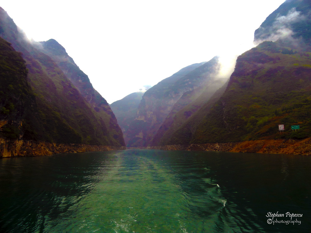 Yangtze River - My trip included a 3 day river cruise along the Yangtze river. With no technology available, all that was left was sitting back and admiring the country and all of its beauty.