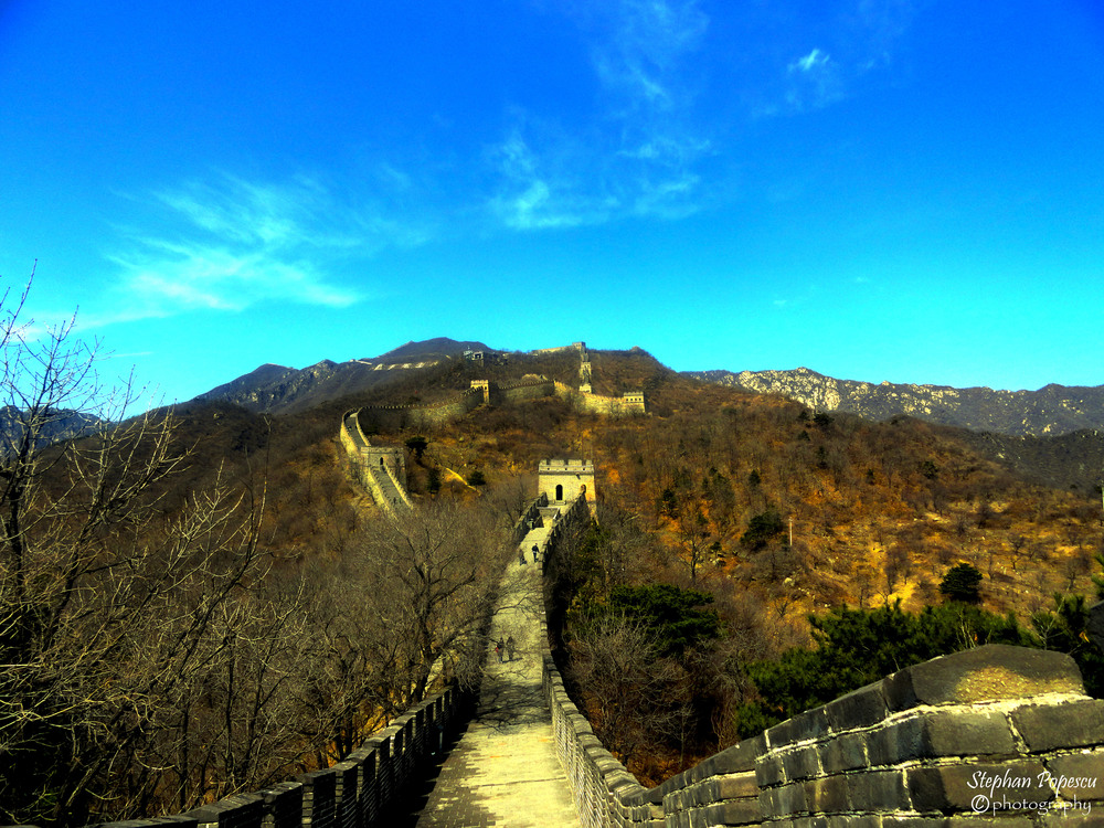 Great Wall - I wasn't sure how much I would enjoy the Great Wall, but the experience was another once in a lifetime one. We were lucky enough to have a bright and sunny day following us on our trek across the wall.