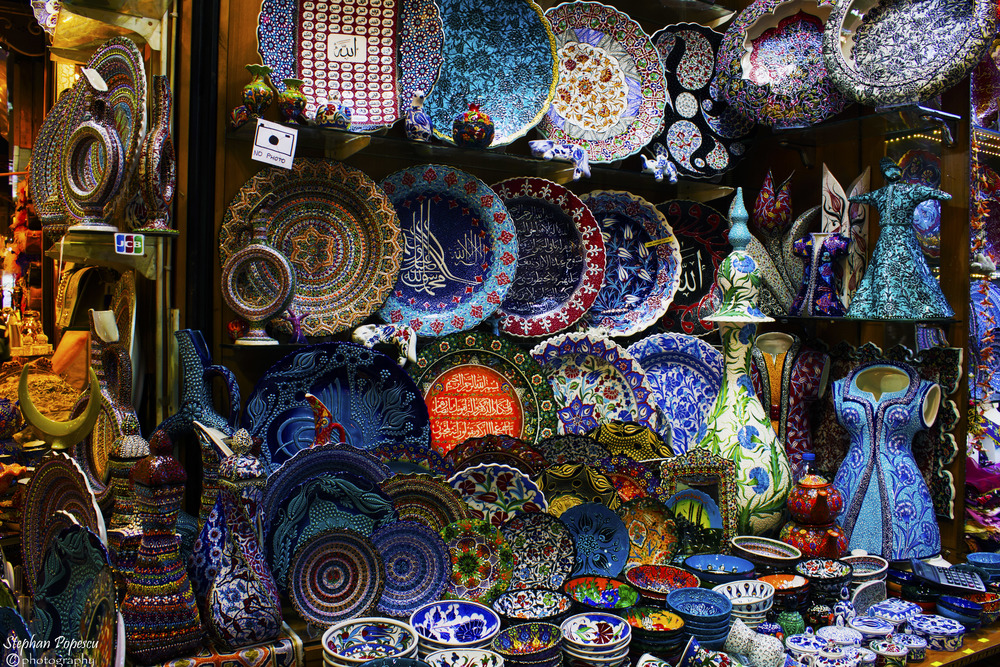 Take some time to explore the Grand Bazaar in Istanbul and you'll be able to buy anything you could ever want. Haggling with the shopkeepers is part of the Turkish culture and one of my favourite things to experience when travelling.