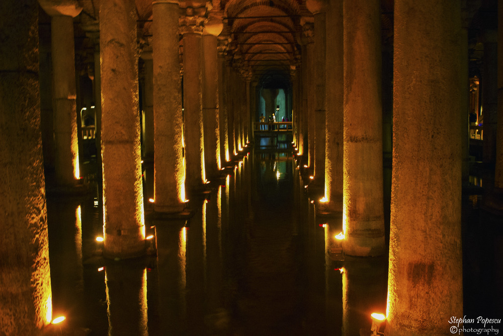Commissioned by Emperor Justinian in 532, the Basilica Cistern is a perfect example of how important Istanbul/Constantinople was historically. Constantly being invaded, the Emperor had this and many other cisterns built as a way to always have a water supply during times of war.