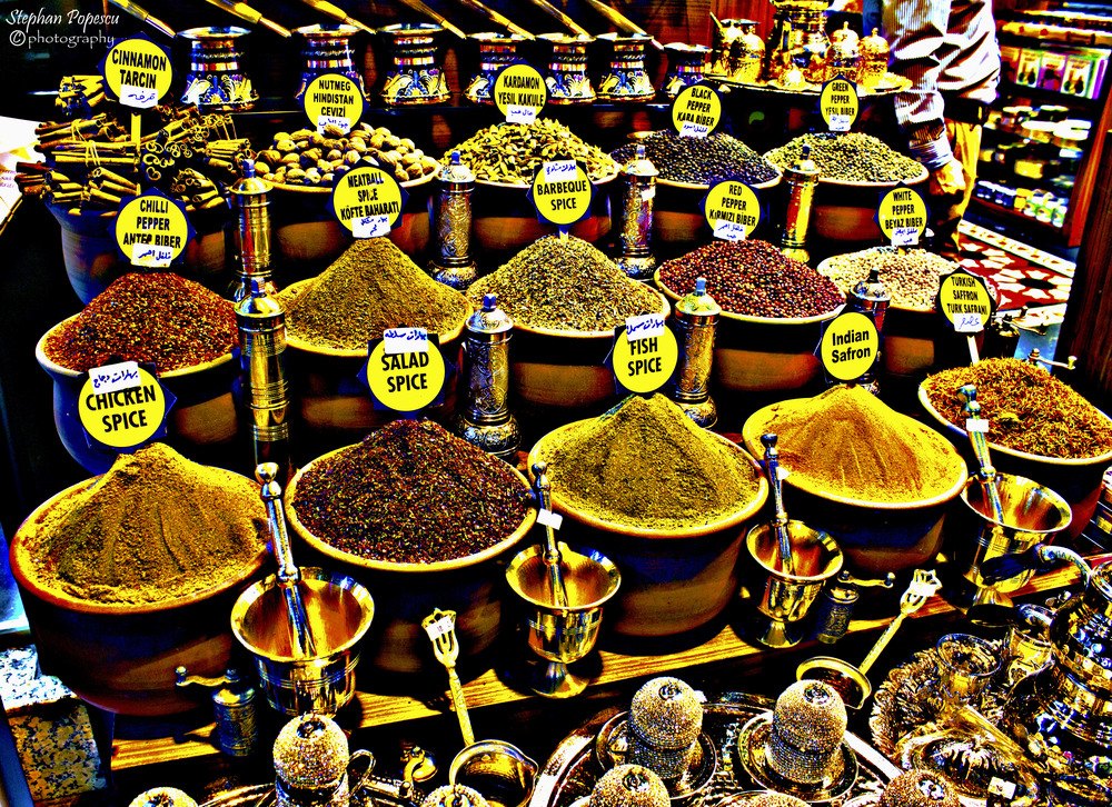 As someone who enjoys cooking with spices, visiting the famous Spice Bazaar was a must. There are more spices to smell than you could possible wish for and leaving room in your luggage to bring some spices home is something you won't regret doing.