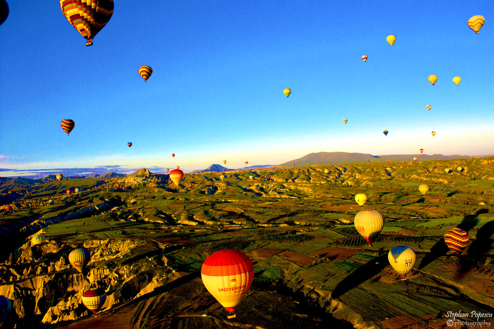 Ask anybody who's visited Cappadocia and they'll tell you there's no better way to see the region than by hot air balloon.