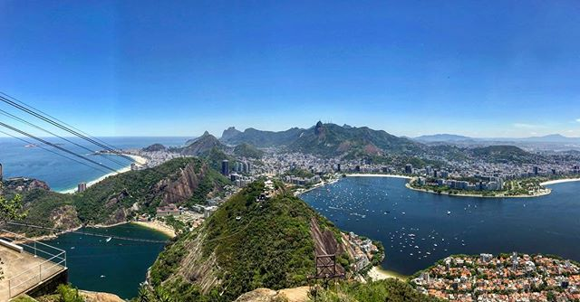 Blessed with an absolutely perfect day as we explore Rio and enjoy the views from the top of Sugar Loaf mountain. Couldn't have asked for a better experience to end my first adventure in South America. #wheremypassportgoes