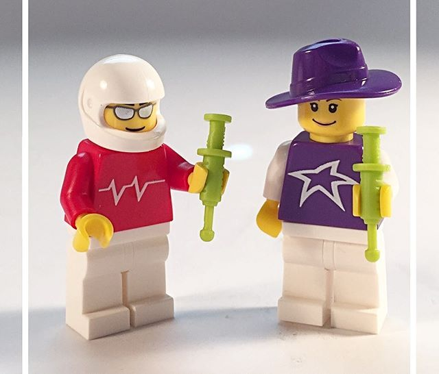 Happy Friday! Go conquer the weekend. http://www.brickengraver.com/minifigs/