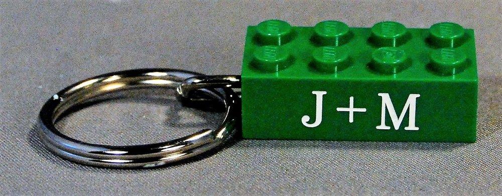 Personalized LEGO Gift Keychain