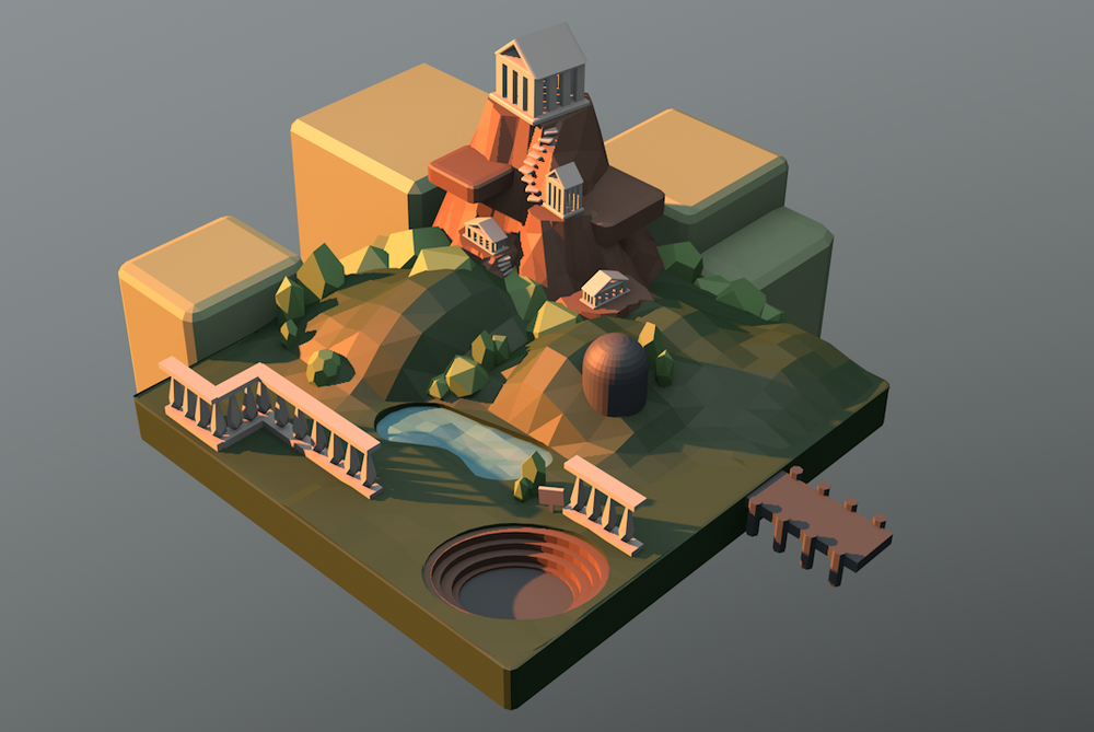 3D Model Created by s1t2