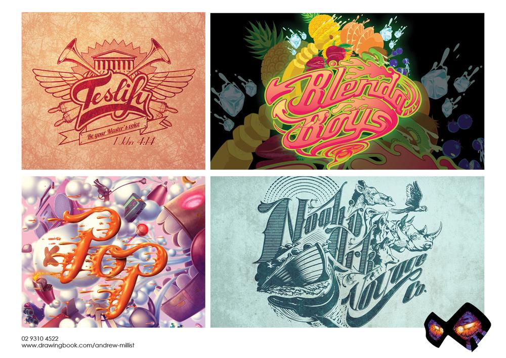 Andrew Millist Typography