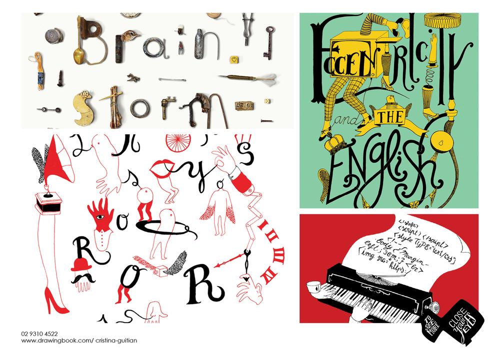 Cristina Guitian Typography