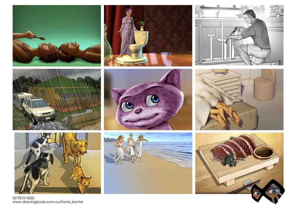 FrantzKantor_Storyboards
