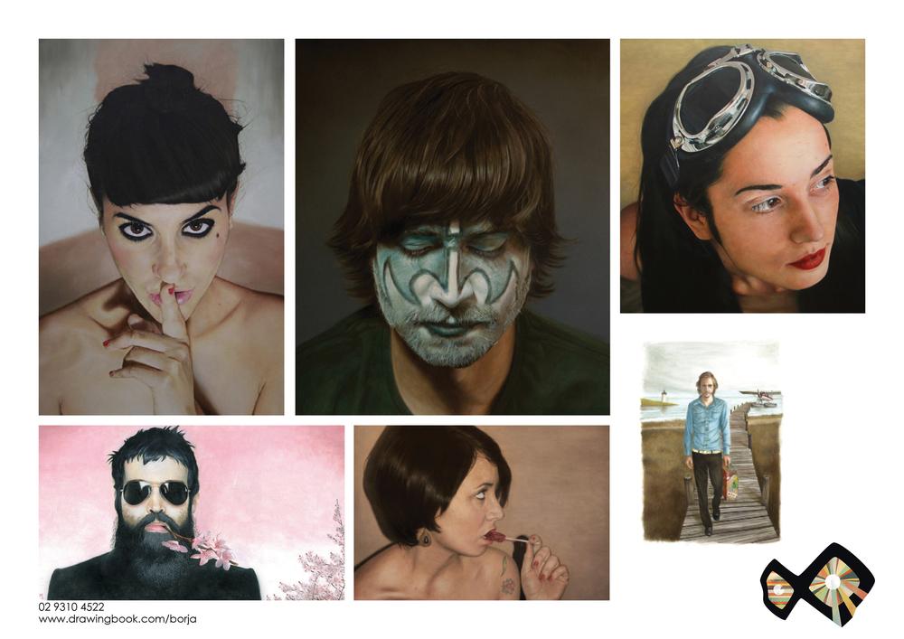 Borja Photoreal Painting