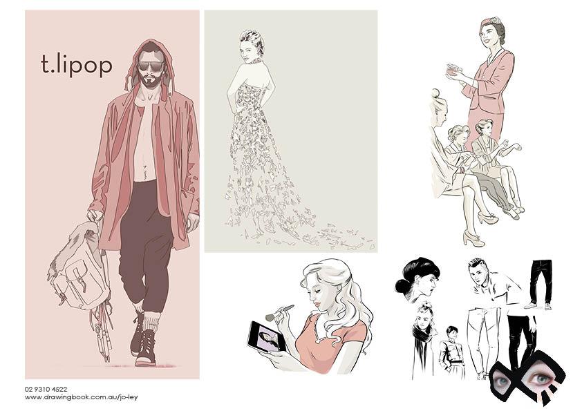 Jo Ley Fashion Illustration