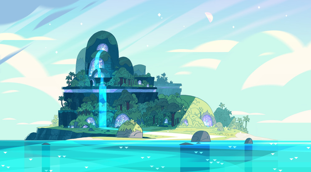 Artwork created by the Rebecca Sugar for Steven Universe Cartoon Network