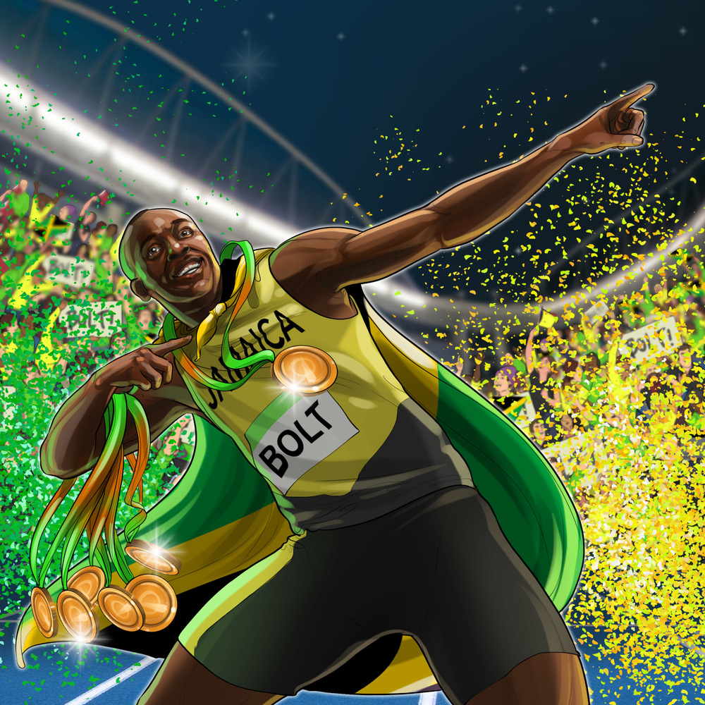 The greatest of all time! Bolt wins three gold in a row to make history... ⚡️ -  August 15, 2016