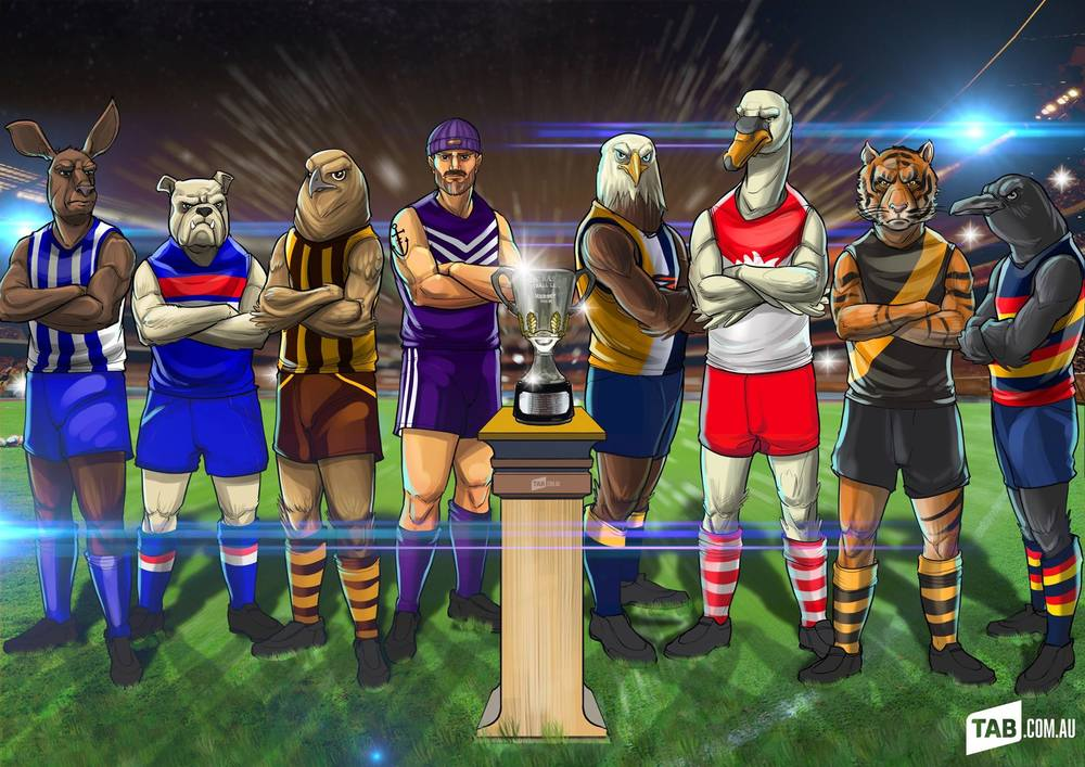 AFL's 2015 Top 8 is locked in.  Get pumped up for Footy Finals!!!
