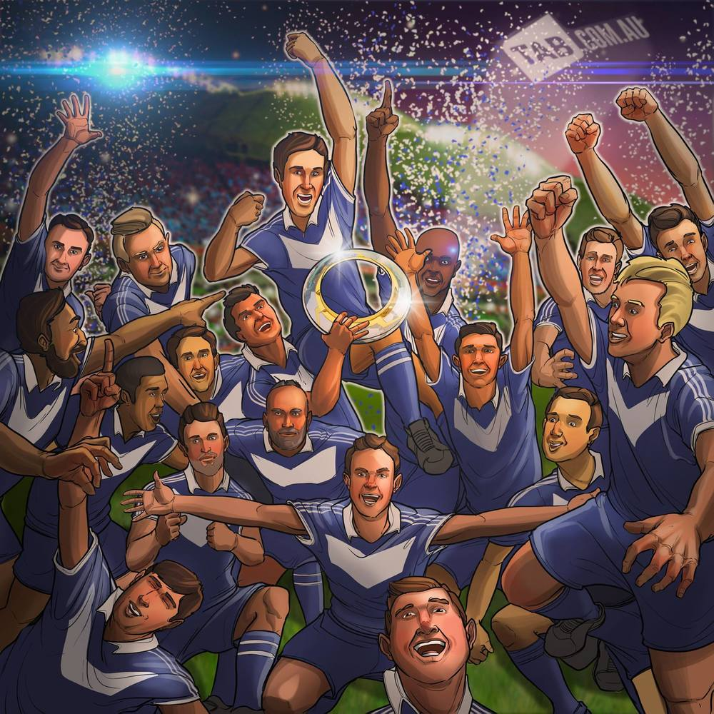 Melbourne Victory are the 2015 A-League Champions!