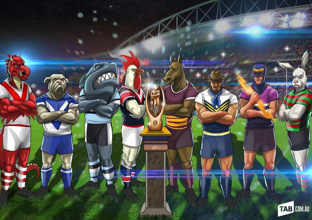 The 2015 NRL Top 8... Bring on the Finals!!!