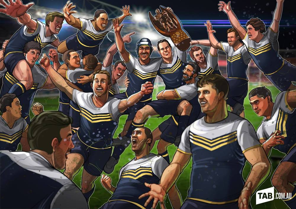 The Cowboys are the 2015 NRL Champions!!!