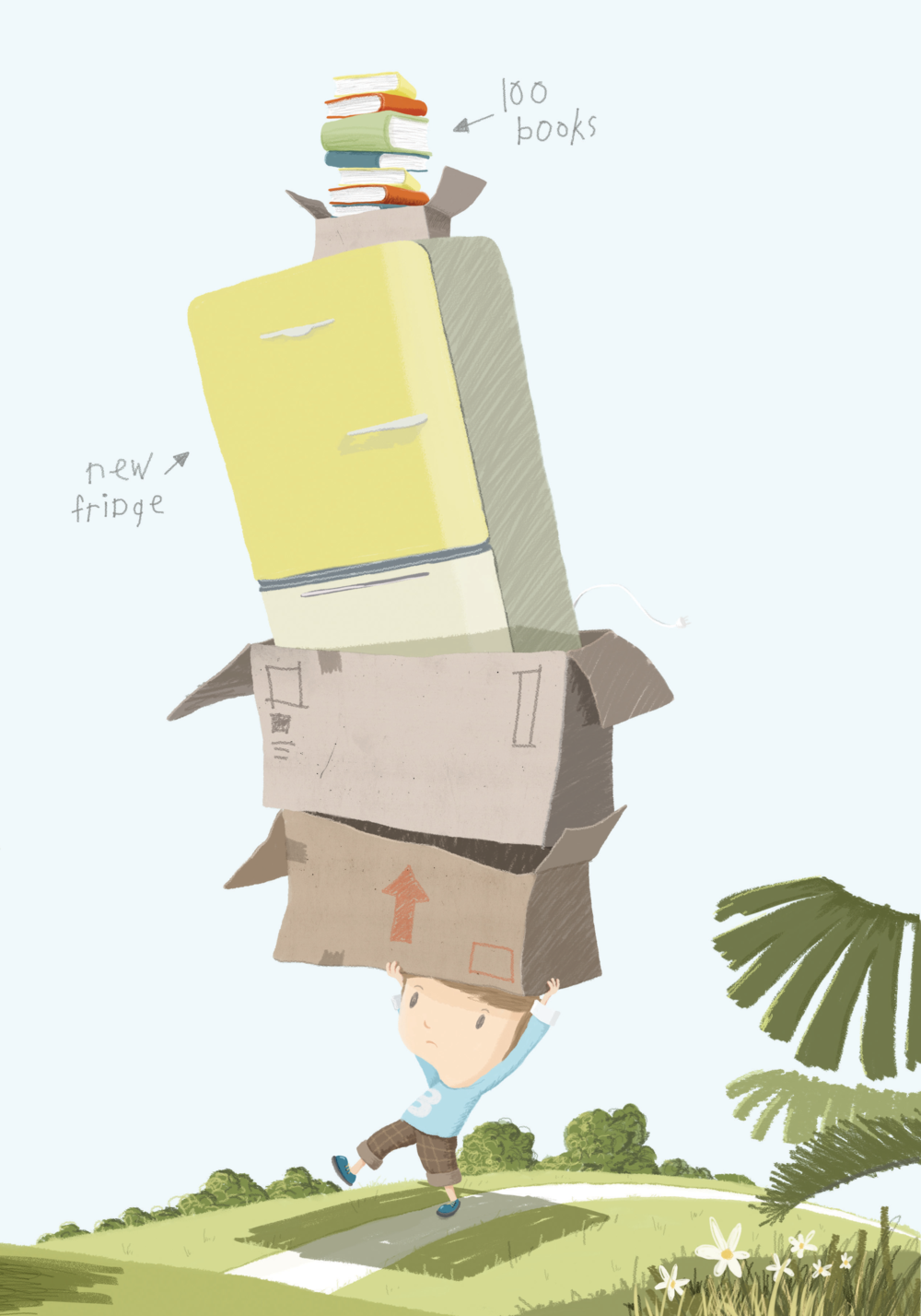Ben Breeze - Ben's Boxes and Kids Cut Palm Oil