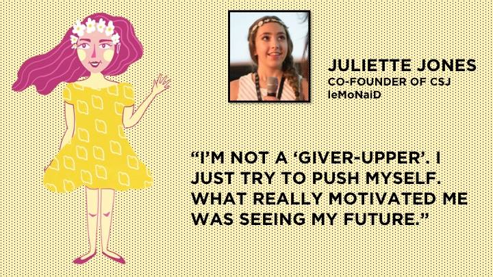 Juliette Jones by Irene Feleo