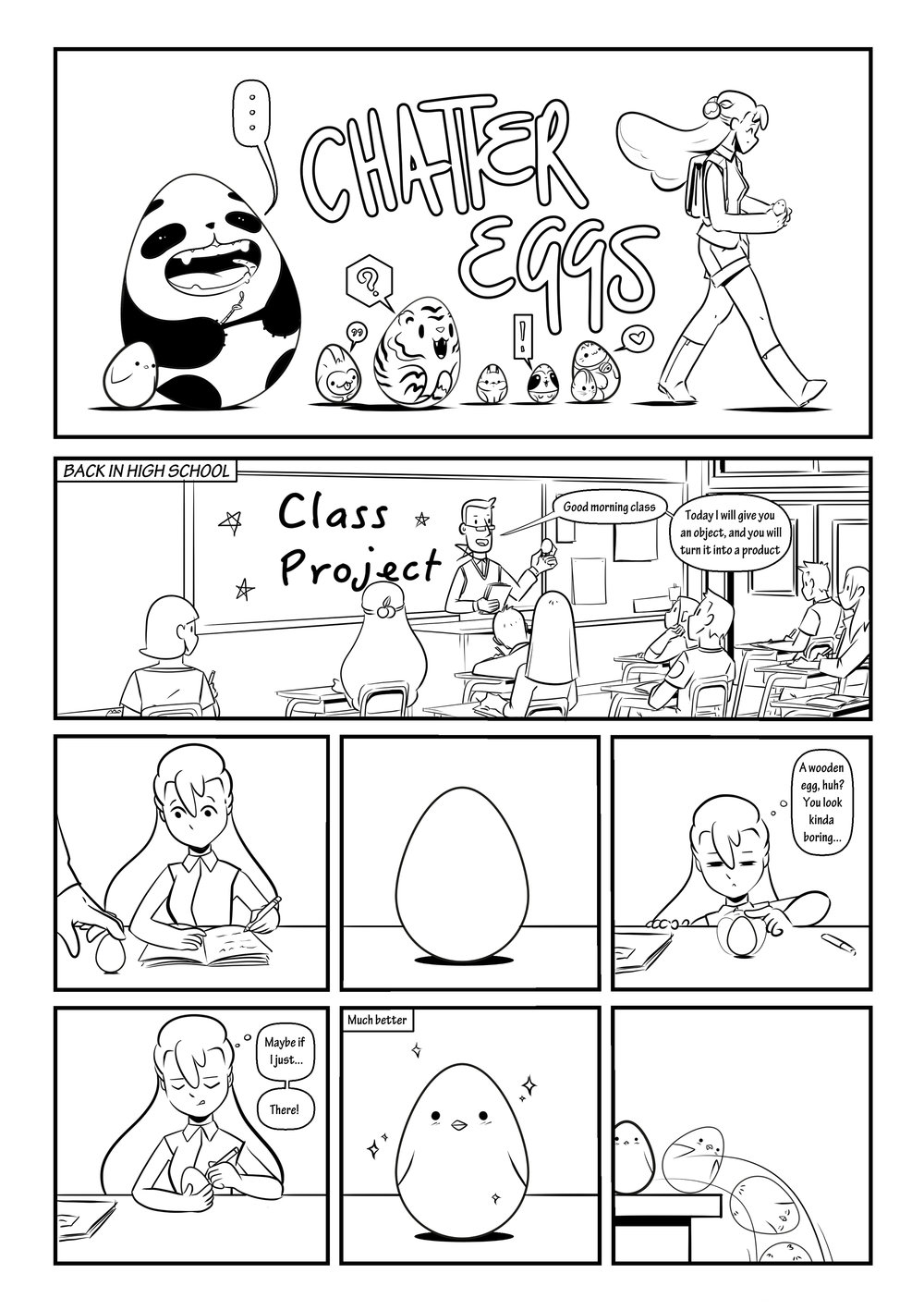 Chatter Eggs by Jo Ley