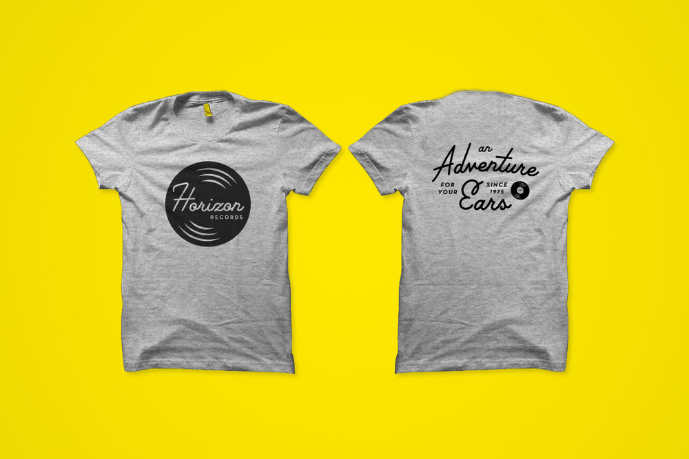 Secondary Logo & Tagline T-Shirt—Front & Back