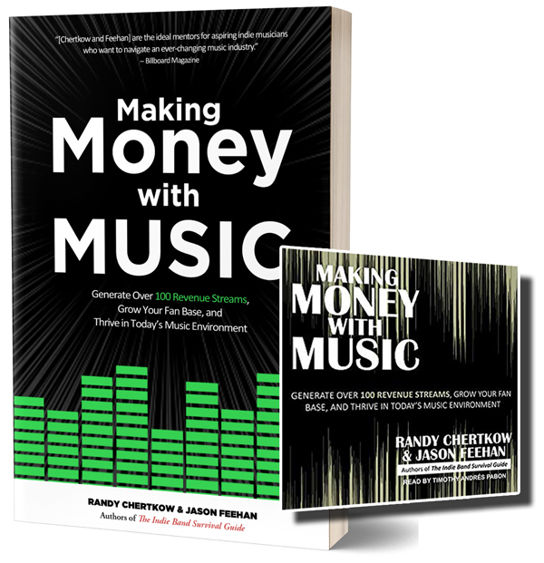 Making money with music (St. Martin's PRess) -- 423 Pages; AudioBOOK, 15 hours and 7 minutes