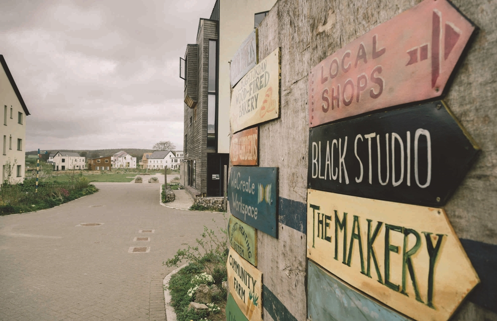 An image from issue two: Cloughjordan Ecovillage, by Rob Durston
