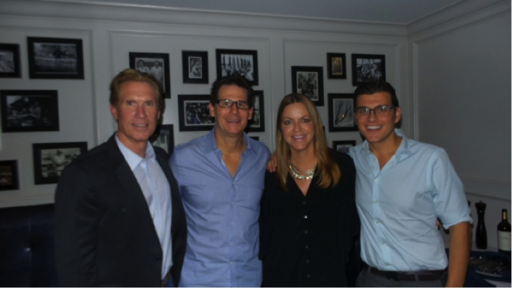 From Left: Jon Meschke, Vice President, Affiliate Services, Sotheby's International Realty Affiliates; Joe Galindo of RSIR; Jennifer Johnsen of RSIR; & Anthony Urcinoli, Manager, Global Operations, Sotheby's International Realty.