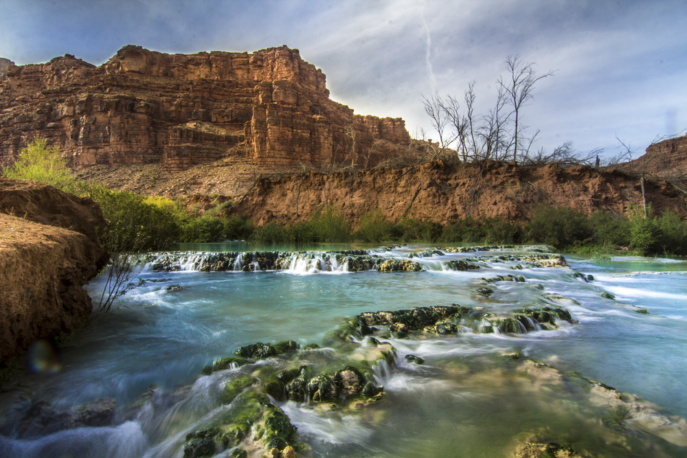 New Navajo Falls. Photo by Michael Auffant