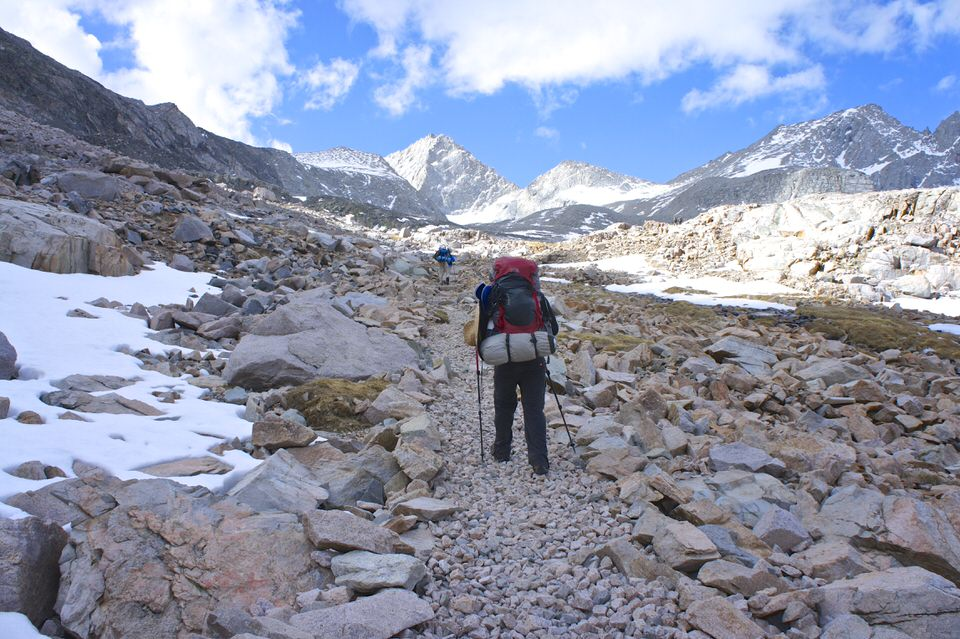 hikers-hiking-on-rocky-john-muir-trail