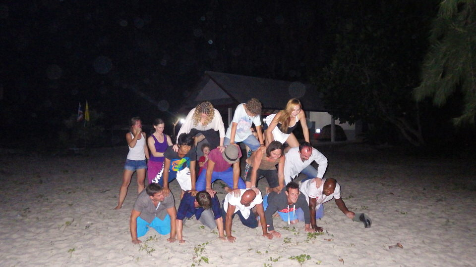 human-pyramid-on-beach