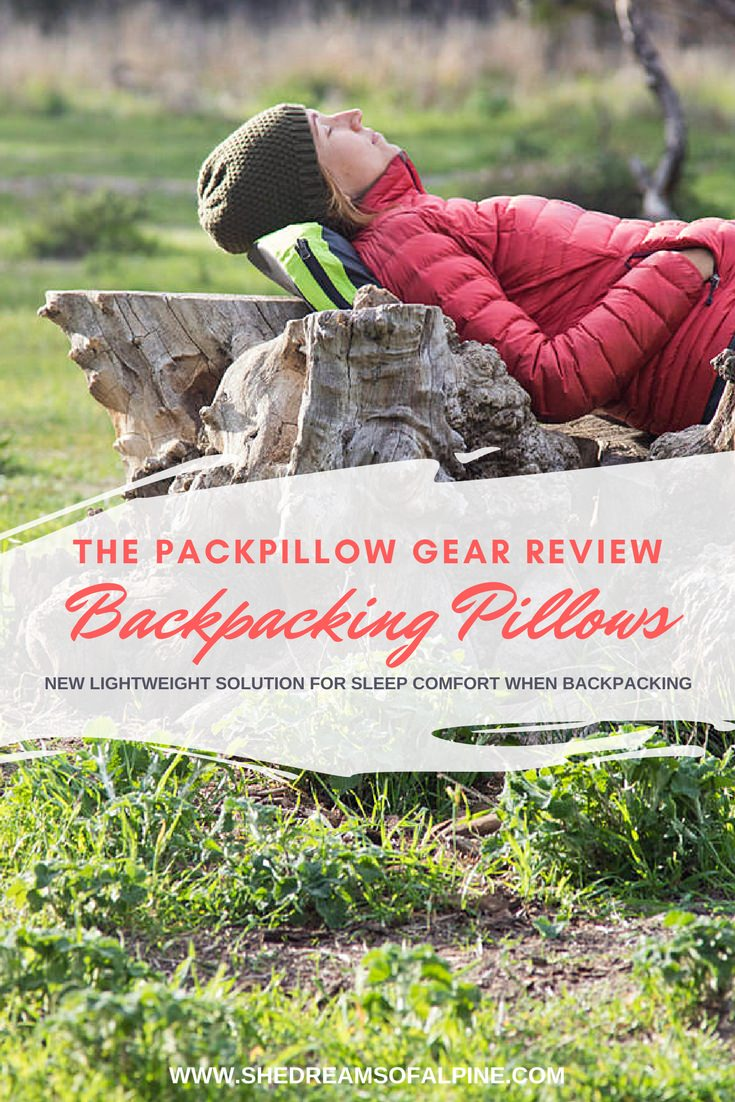 Field Testing the PackPillow Backpacking Pillow