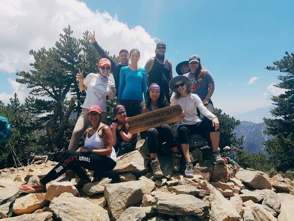 Summit of San Bernardino