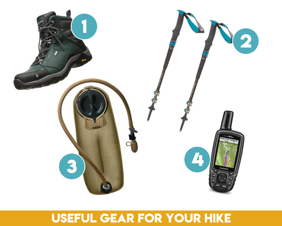 Make sure to bring the essentials on your day hike of Mount Baldy!