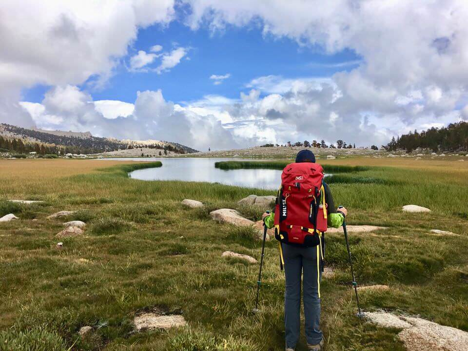 Backpacking the Cottonwood Lakes Trail.