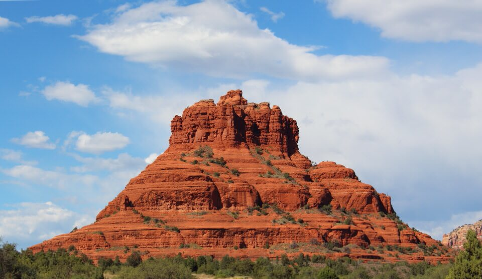View of Bell Rock from the Bell Rock Pathway Trail.