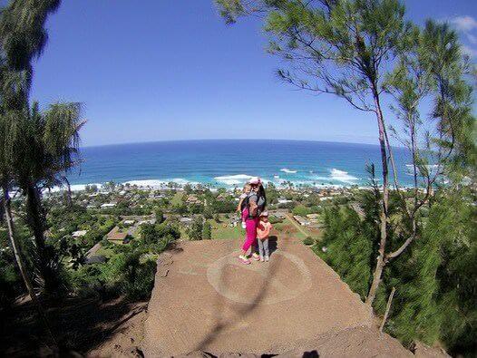 Ehukai Pillbox hike is one of my favorite family hikes in Oahu!