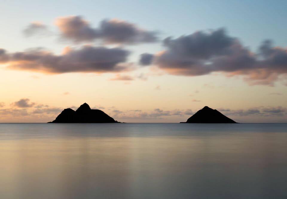 Ocean views in Lanikai.