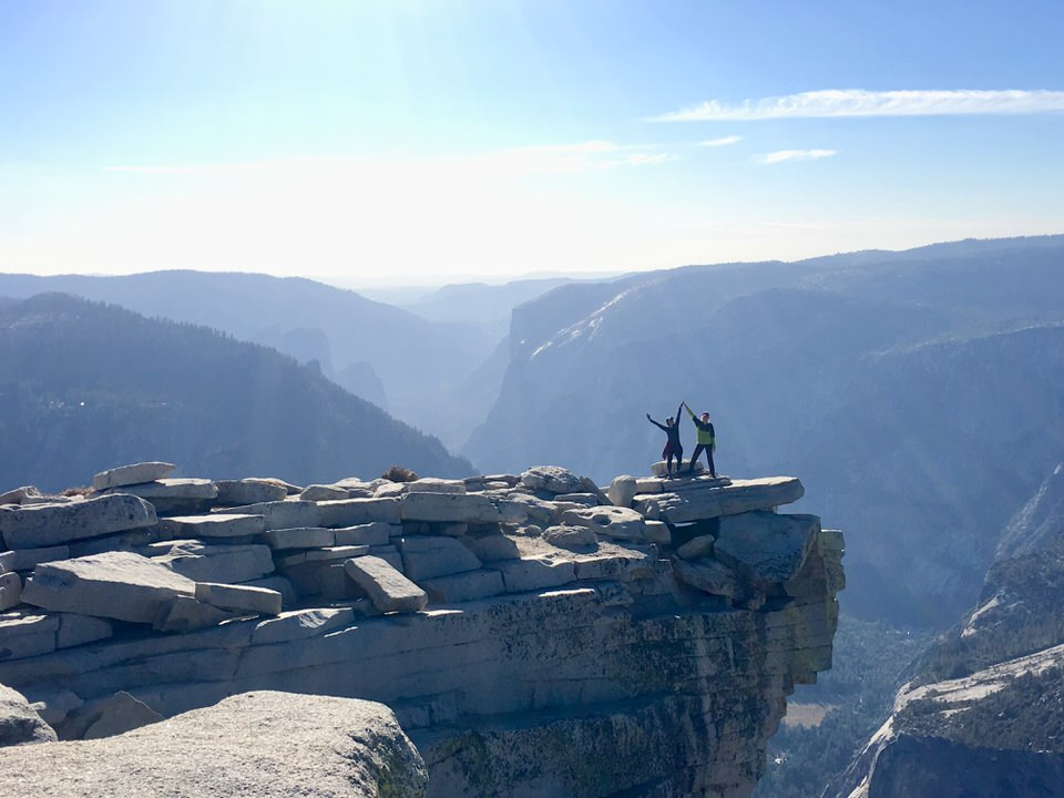 The Half Dome hike is by far one of the best hikes in Yosemite National Park