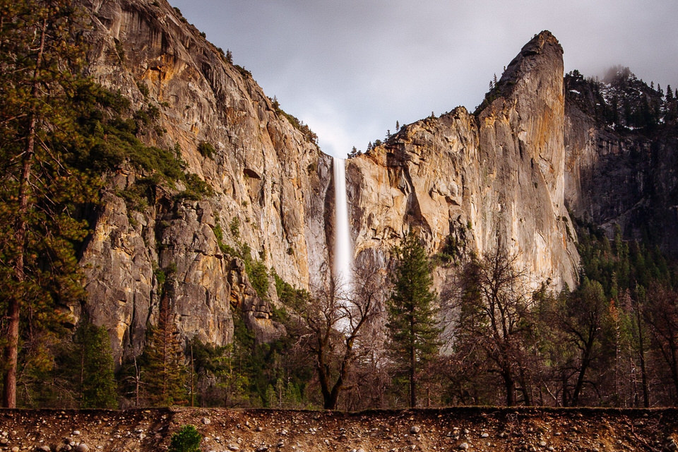 Bridalveil Fall is one of the best Yosemite short hikes.