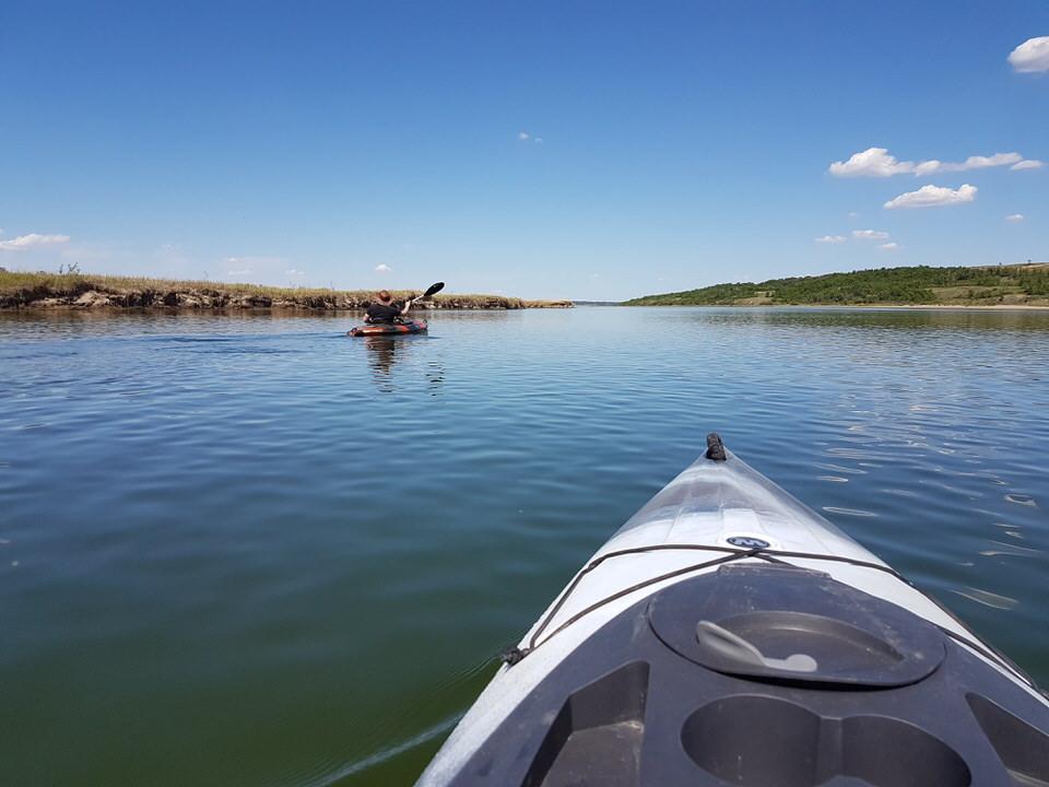 Kayaking the Chief Whitecap Waterway