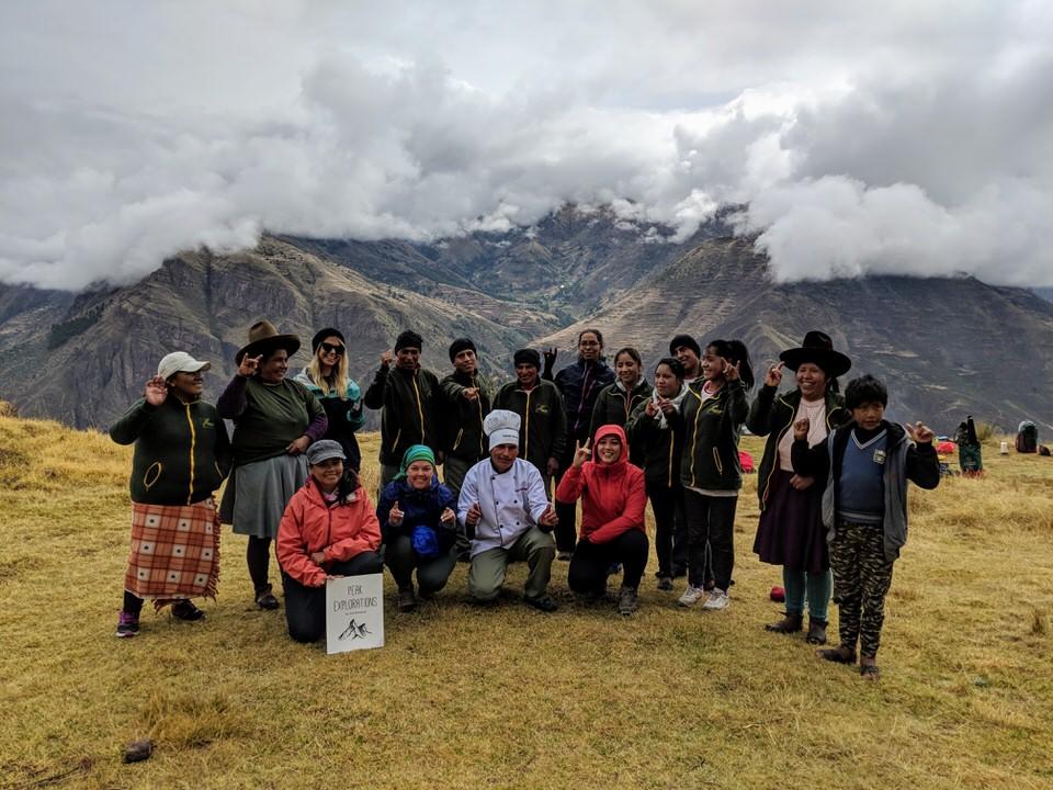 The Huchuy Qosqo Trek with the Quechua Women of Peru