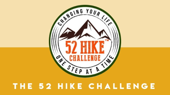 Join the 52 Hike Challenge to push yourself to get outdoors every week of the year.