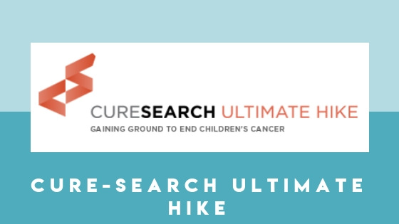 CureSearch Ultimate hike is an event put on dedicating to finding a cure for children's cancer