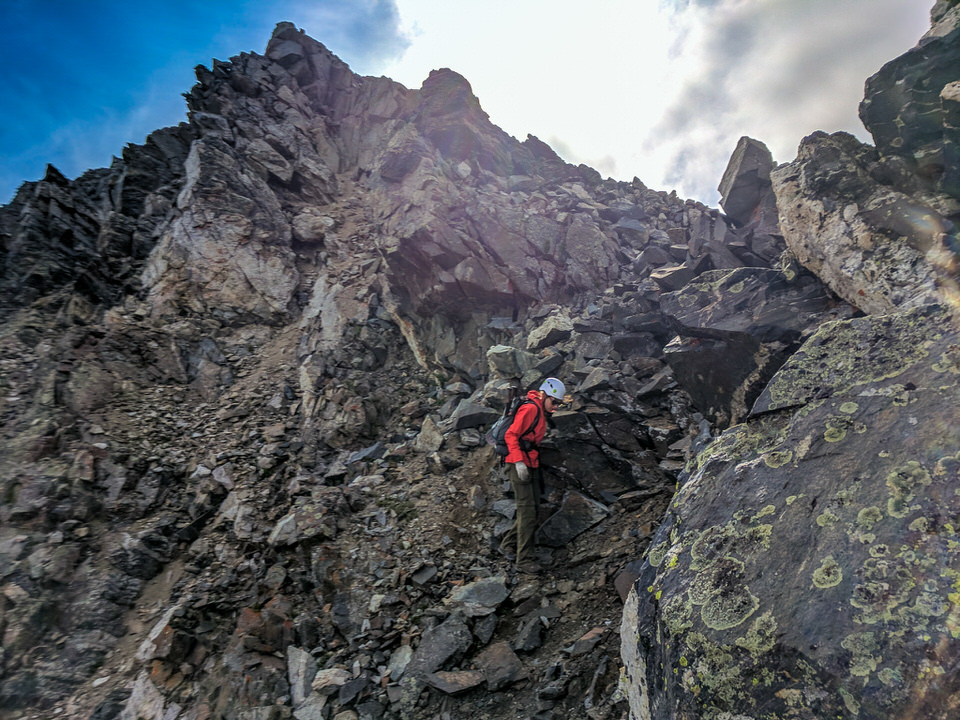 Classes of Rock in Mountaineering.